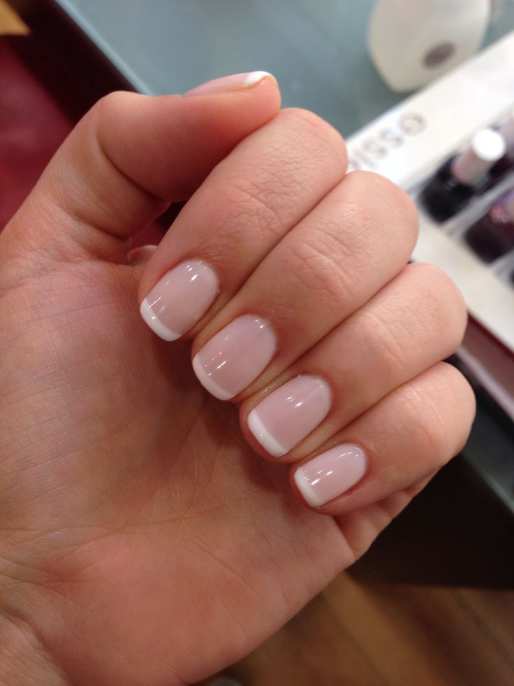 Photo of #Französisch #Maniküre #Nageldesign French Manicure – Nageldesign French Manic …