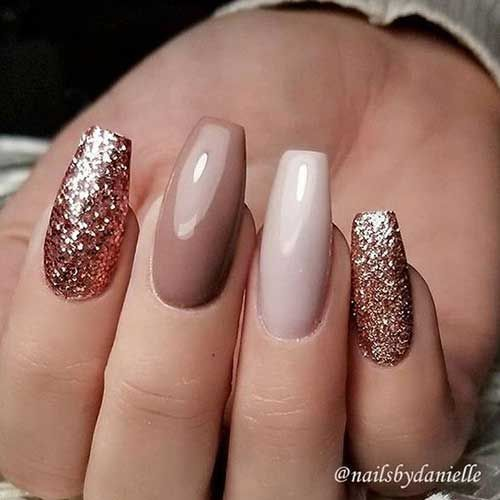 Photo of Lange Sargform Nail Arts, Lange Sargnägel, Nageldesign #Hairstyle #Hair – #nageldes …