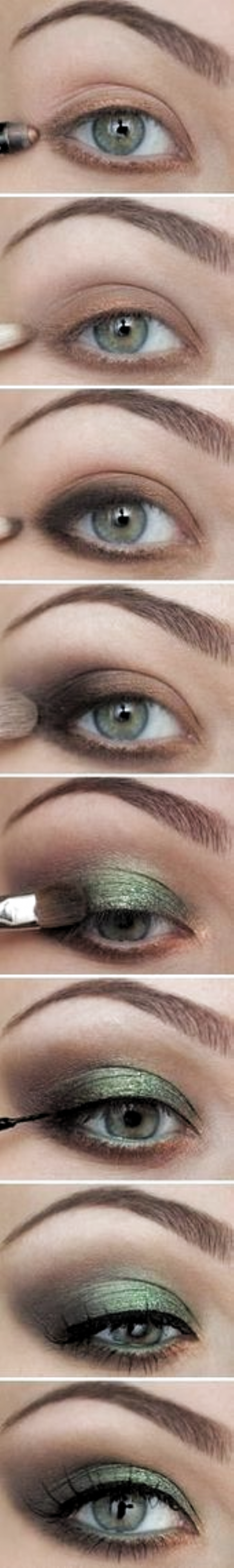 Photo of Make Up Green Eye – Make Up Techniques – #eye #form #Green #Makeup #Tech …