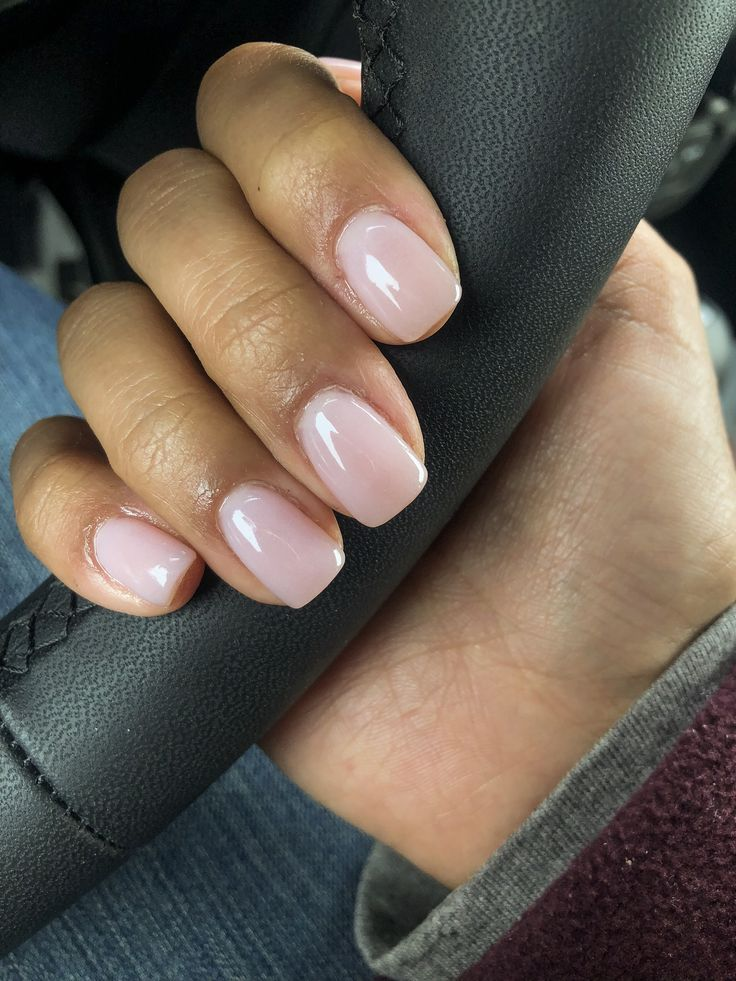 "Photo of SNS manicure ""Make Me Blush"" #sns #manicure #naakt"