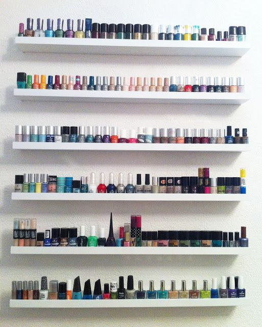Photo of Sabrina's Make Up Diary: NAIL POLISH COLLECTION + STORAGE – UPDATE