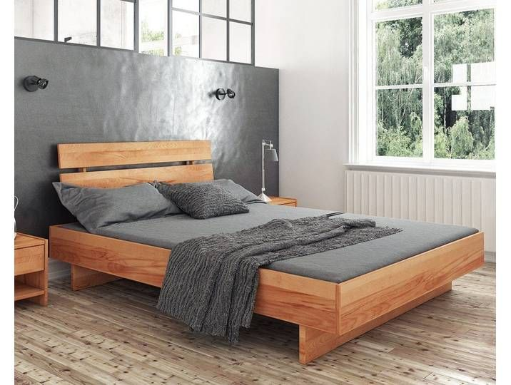 Photo of The Beds Vigo massief houten bed 1302 / 200×200 cm / natuurlijk geolied beuken /