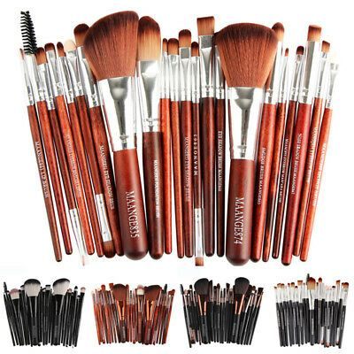 Photo of 22 Stück Make-up Pinsel Set Basis Puder Augenlider Eye Liner Lip Tool Brush